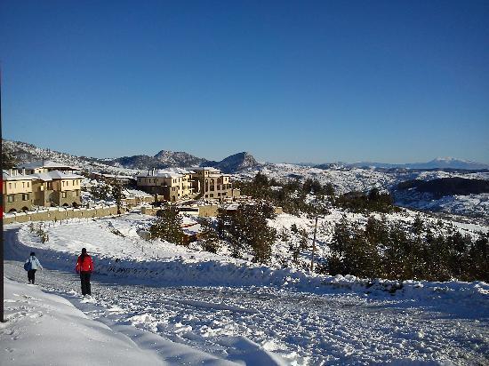 Pindos Palace: hotel view