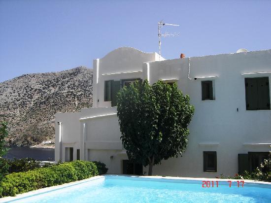Margado Accommodations: Vista da una piccola terrazza ad uso esclusivo