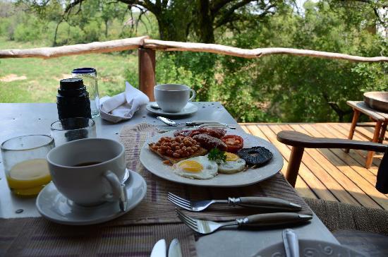 Garonga Safari Camp: Hubby was happy!