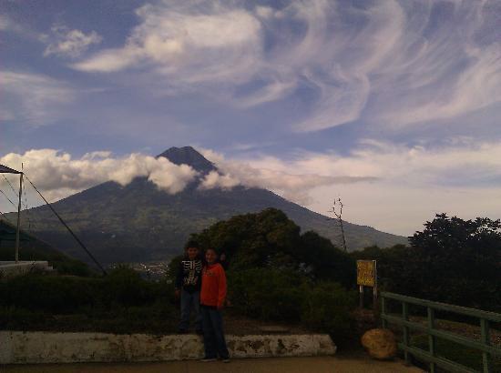 El Tenedor del cerro: View from restaurant
