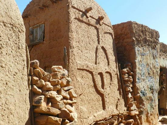 Bandiagara Cliffs (Dogon Country): Simbolo Dogon - Villaggio di Songho