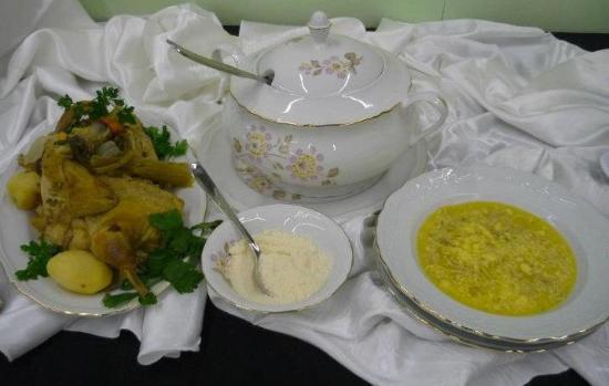 Agriturismo il Fascinaro: piatto arrivato secondo alla gara di 'cucina contadina' ad agri&tour 2011