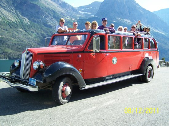 Glacier Park Red Bus Tours
