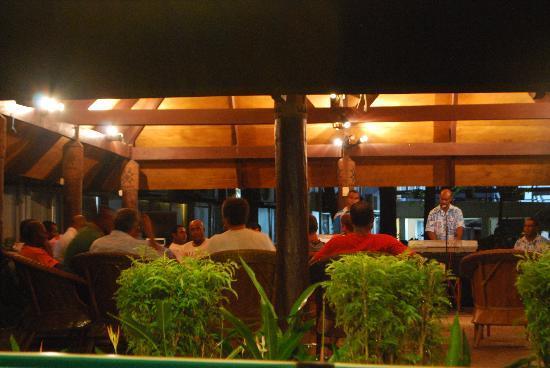 Capricorn Fiji Hotel: the band