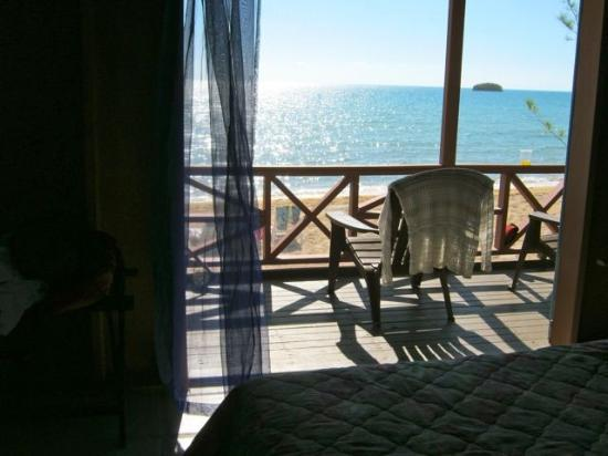 Chez Pierre Bahamas: View from cottage interior
