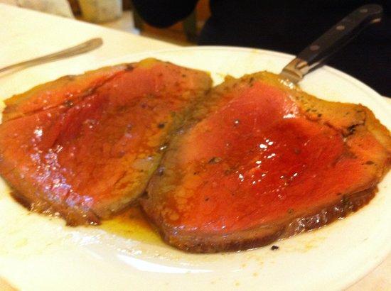 Trattoria La Casalinga: Fiorentina Roast Beef