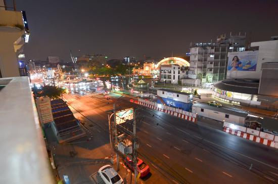SK Boutique Maha Nakhon: SK Boutique View from Balcony