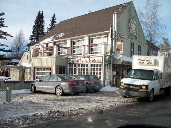 Le Cafe de la Brulerie: tout près de la piste cyclable