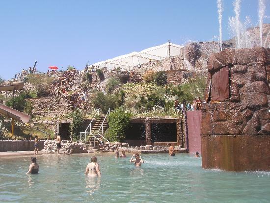 Parque de Agua Termas Cacheuta: pileta de agua fria
