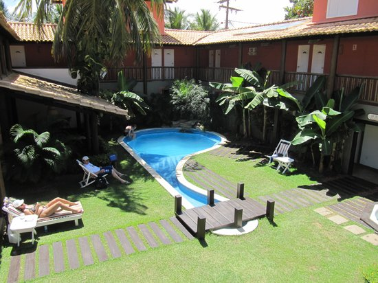 Hotel Pousada Tatuapara : the pool area