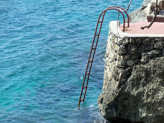 Xtabi Resort: Our ladder to the sea