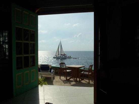 Xtabi Resort : Nice view from the sofa