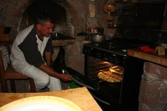 Refugio Romano: nuestro gran cocinero