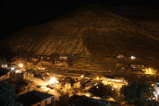Refugio Romano: increible vista de real por la noche