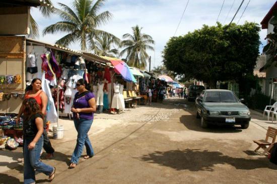 Bucerias: street vendors
