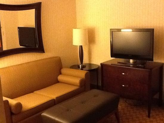 Inn at Saint Mary's Hotel & Suites: Front living room.  One of two televisions.