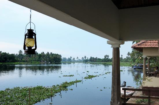 Lake Haven Island Resorts: View from the Balcony of the royal Water Villa