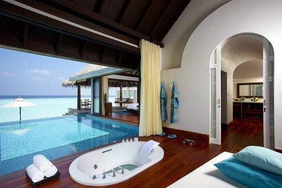 Anantara Kihavah Maldives Villas: Over-Water Pool Villa Bathroom