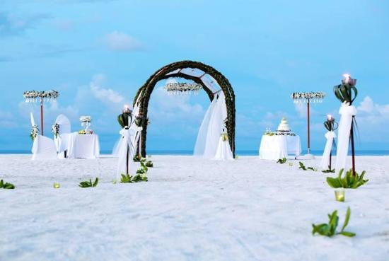Image result for Anantara Kihavah Maldives Villas wedding