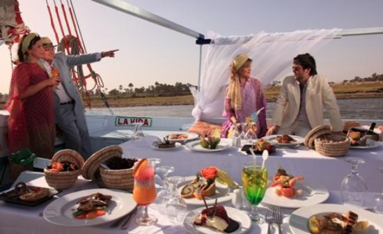 Steigenberger Nile Palace Luxor: Felluca Lunch