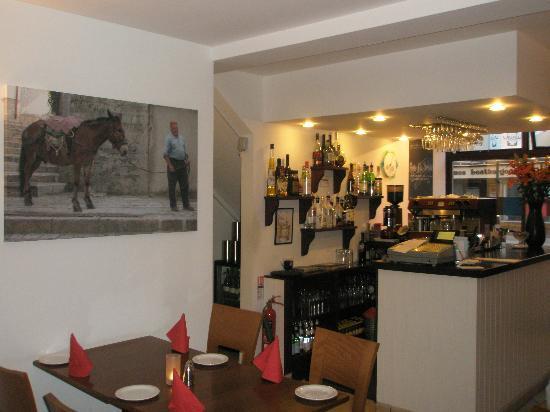 Cafe Latino: Main restaurant bar