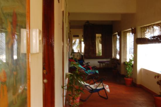 Mom Lekha's Private Homes: Beautiful corridor for relaxation