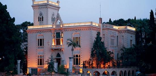 Robert Mouawad Private Museum: the building from outside