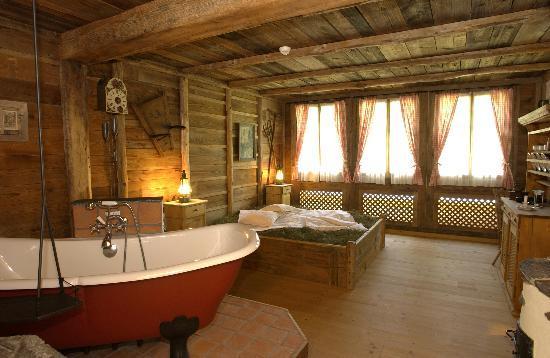 Grand Hotel Regina Grindelwald: Wellness Sennhütte