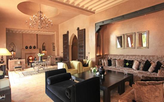 Villa Chamade: le salon