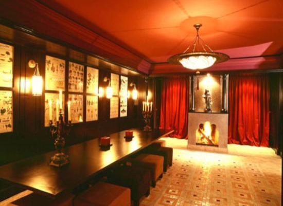 Villa Casa Rossa: la salle a manger