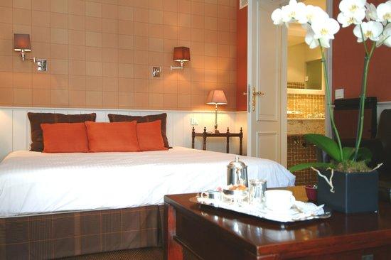 Hotel Prinsenhof Bruges: Deluxe Room