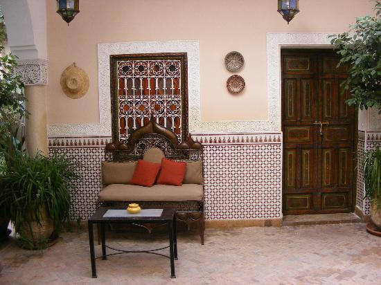 Riad Villa Harmonie: Rsting area