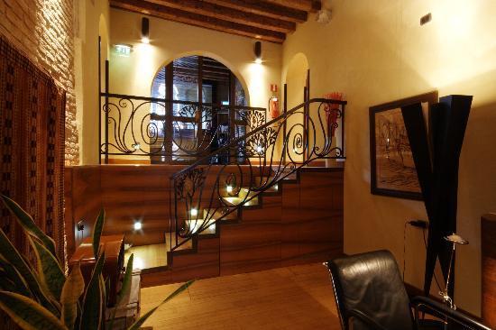 Ca' Pisani Hotel: ingresso - hall