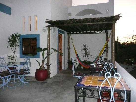 Tamarindo Bed and Breakfast: Terrace