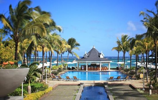 Heritage Le Telfair Golf & Spa Resort: Heritage Le Telfair Hotel Mauritius: The kiosk