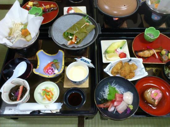 Hotel Daimatsuso: 夕食