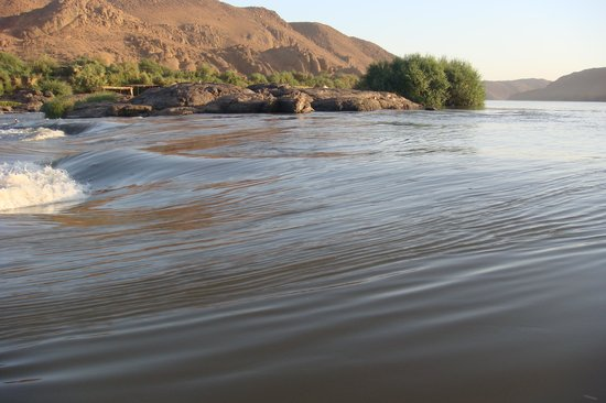 Khartoum, Sudan: A waterfall you will find with natural beauty