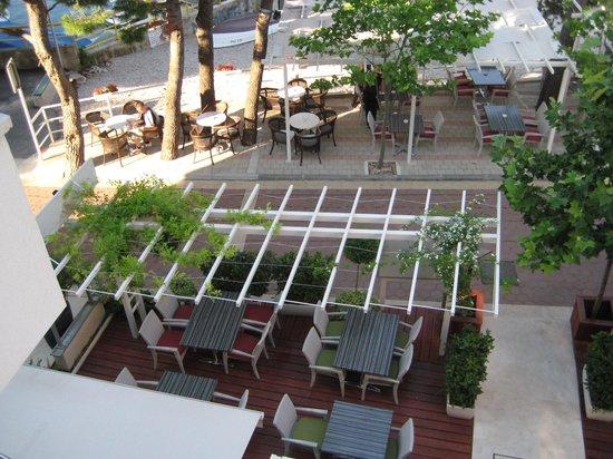 The Maritimo Hotel: Hotel Terrasse