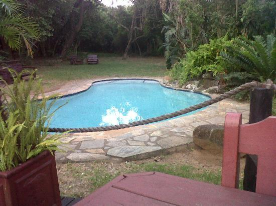 Bushlands Game Lodge: swimming pool