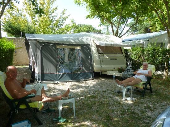 Camping du Theatre Romain: emplacement