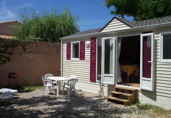 Camping du Theatre Romain: mobile-home