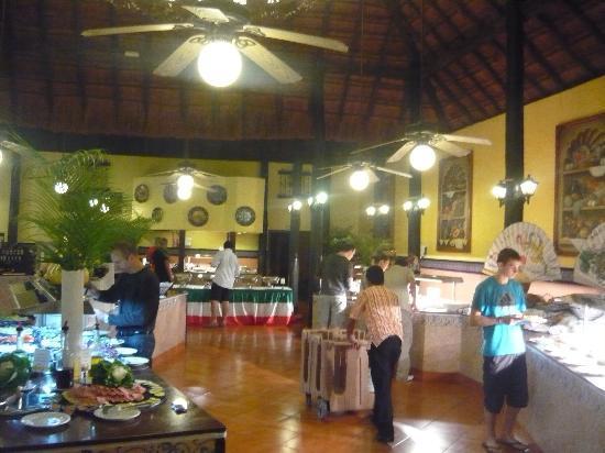 Hotel Riu Lupita: buffet