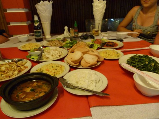 Lap Thao: Good food