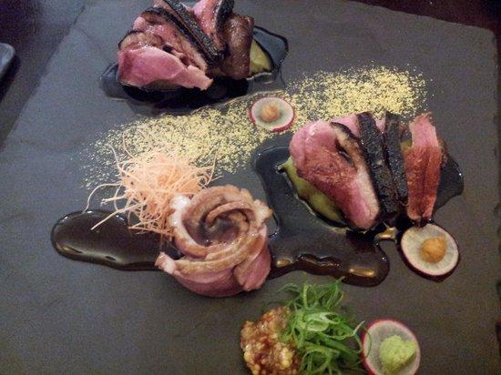 Ha-lu Japanese Restaurant: Duck special dish