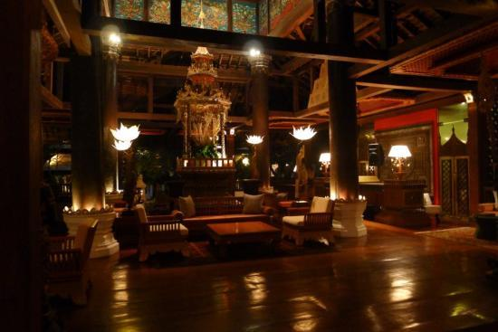 The Dhara Dhevi Chiang Mai: Near the French Restaurant