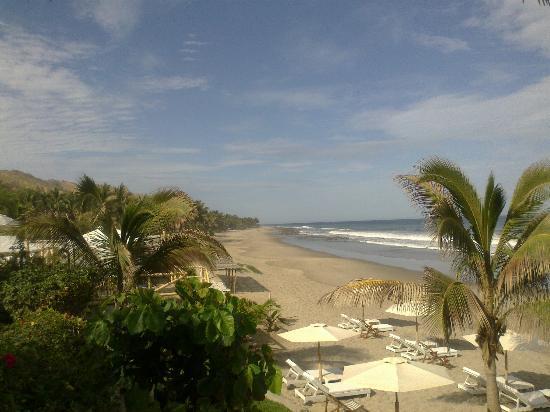 Puerto Palos: Vista a la playa