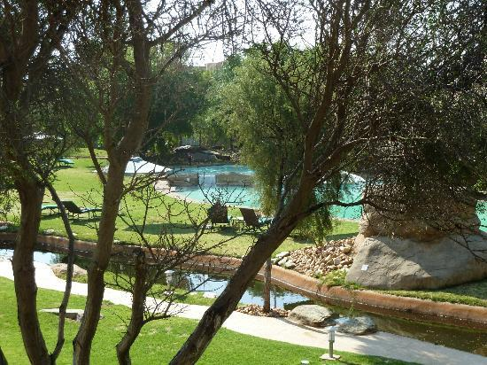 Windhoek Country Club Resort: view from room