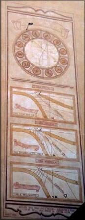B&B La Torre della Meridiana: particolare meridiana sulla torre
