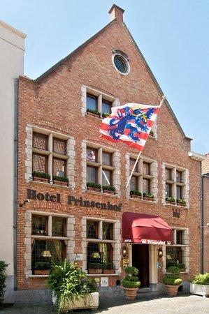 Hotel Prinsenhof Bruges: Front