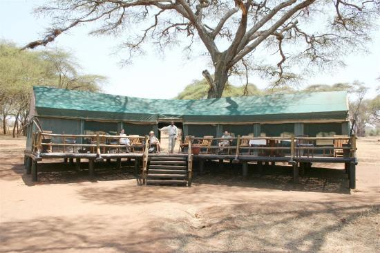Sanctuary Swala: Swala Camp Main Tent